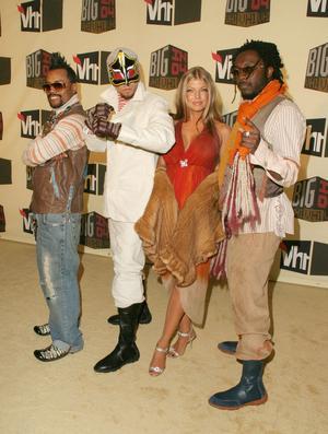 Les Black Eyed Peas avec Fergie en 2004.