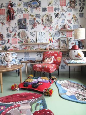 Le showroom de la créatrice Nathalie Lété, à Roubaix.