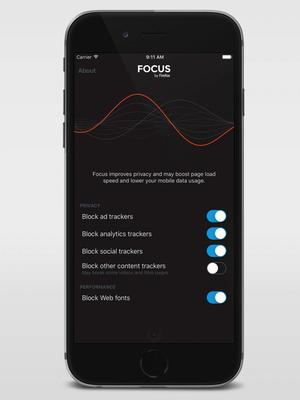 Focus de Mozilla.