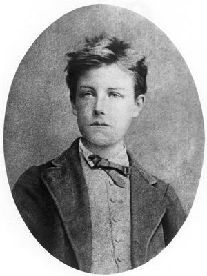 La photo d'Arthur Rimbaud prise par Étienne Carjat.