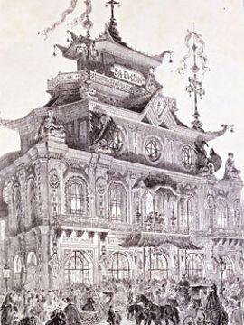 Grand succès pour le Ba-ta-clan en 1865.