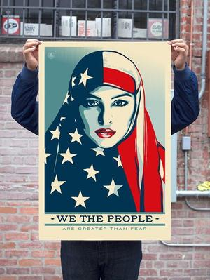 Shepard Fairey, «We the people», nouvelle campagane de l'artiste