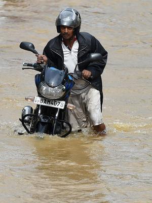La capitale du Sri Lanka, Colombo, a été fortement touchée par les inondations.