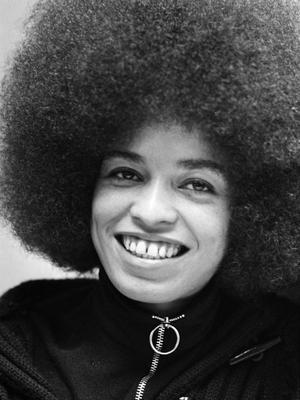 Angela Davis, en 1972.