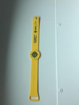 Le bracelet numérique de MSC Croisières