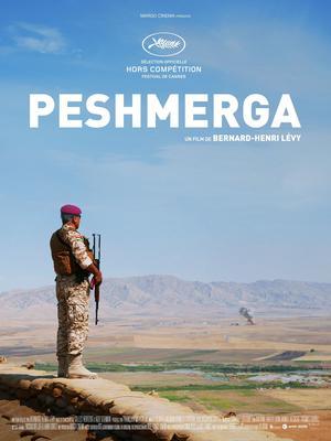 L'affiche du film <i>Peshmerga</i>, réalisé par BHL.