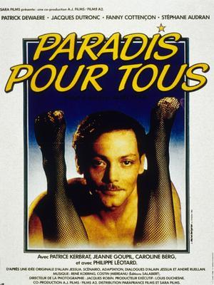 L'affiche de <i>Paradis pour tous</i> (1982)