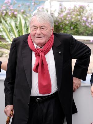 Claude Lanzmann était à Cannes en 2017 pour présenter son film «Napalm».