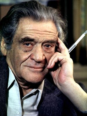 L'écrivain et journaliste Joseph Kessel (1898-1979), ici vers 1960.