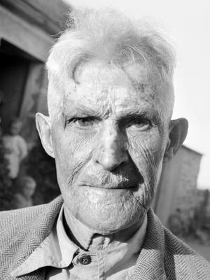 Guillaume Seznec, le visage marqué, à son retour de Cayenne, en 1947.