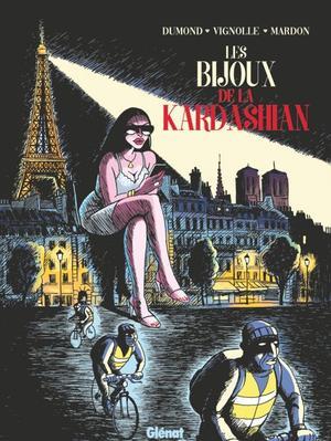 Couverture la BD Les bijoux de la Kardashian, éd. Glénat, 152 p., 15 euros.