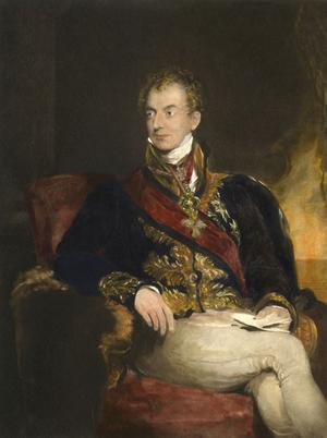 Klemens Wenzel von Metternich, par Thomas Lawrence, vers 1815 (Vienne, Kunsthistorisches Museum).