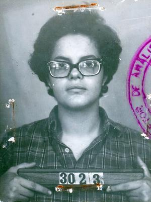 Une fiche policière de Dilma Roussef en 1970.