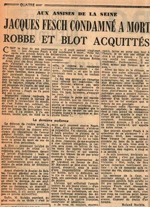 Article publié en 1957 dans les colonnes du <i>Figaro</i>.