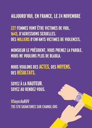 Visuel réalisé par la féministe Clémentine Vagne.