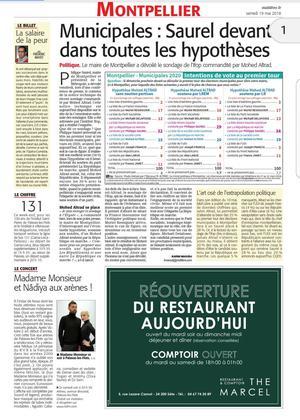 Article du 19 mai paru dans le Midi-Libre