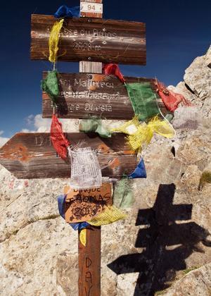 L'étape9, entre Isola 2000 et le refuge Questa.
