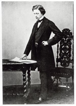Charles Dodgson à 29 ans, en 1861.