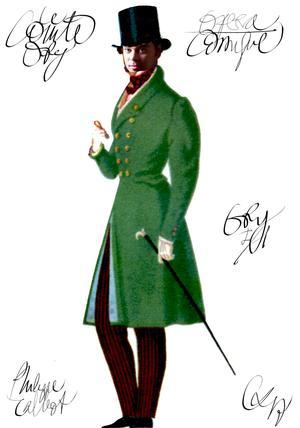 Christian Lacroix signe les costumes duComte Ory, de Gioachino Rossini, à l'Opéra Comique (IIe).
