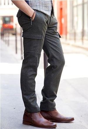 Pantalon cargo, Bonne Gueule, 157€. (Bonne Gueule)