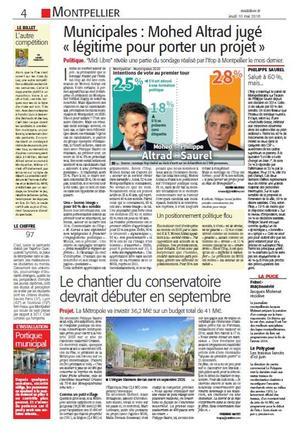 Article du 10 mai paru dans le Midi-Libre