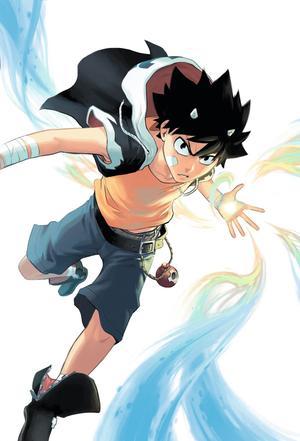 Seth, le personnage principal de «Radiant», un démon à cornes.