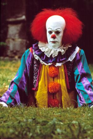 Tim Curry dans «Ça, il est revenu» (1990)