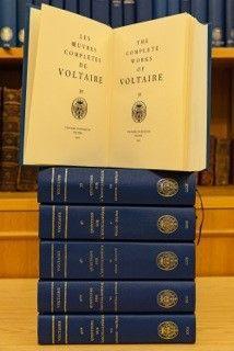 L'œuvre complète de Voltaire devrait comprendre 200 volumes.