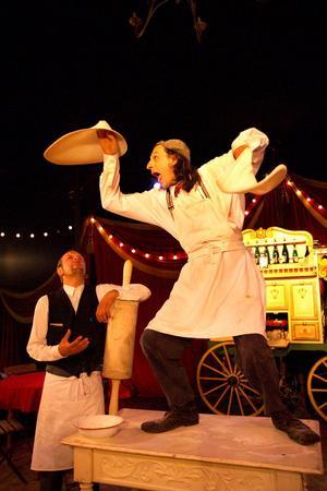 «La Cucina dell'Arte» par le Circus Ronald à l'Espace Cirque d'Antony (92).