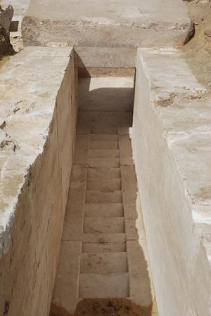 Les archéologues ont découvert un corridor permettant d'entrer dans la pyramide.