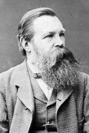 Friedrich Engels, l'ami de Marx.