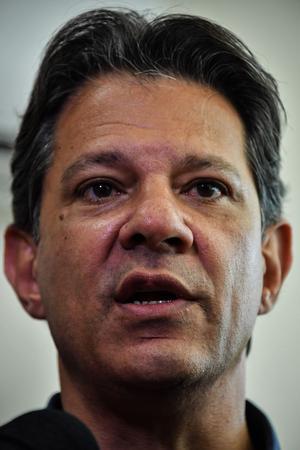 Fernando Haddad, candidat du PT.