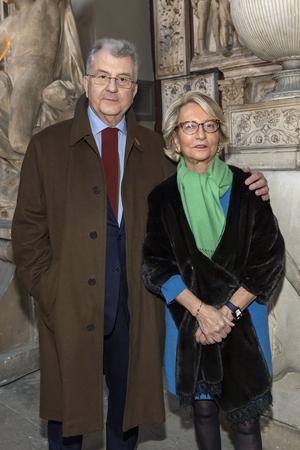 Daniel et Florence Guerlain.