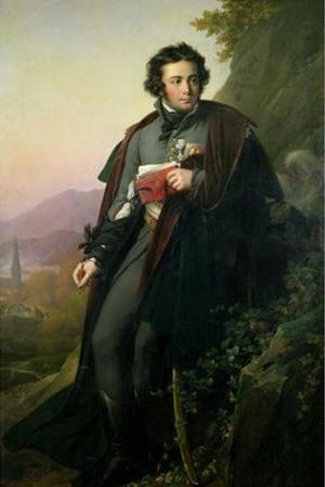 Charles Melchior Artus de Bonchamps par Girodet