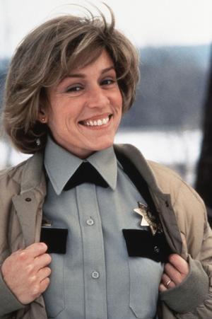 Flic enceinte dans «Fargo», en 1997.