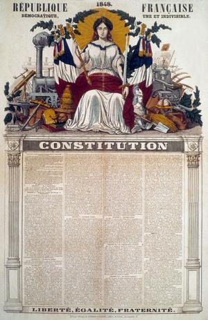 La Constitution de 1848.