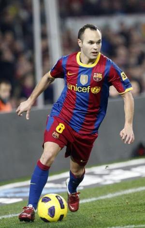 Balle au pied, Andrés Iniesta est un régal à voir jouer.