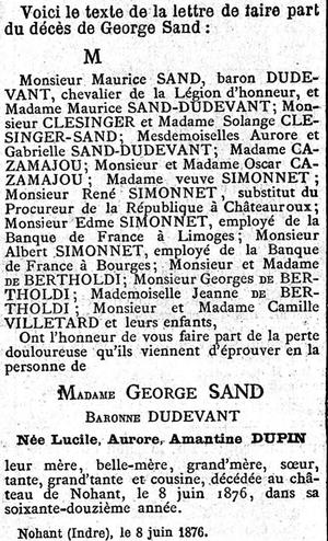 Le Figaro du 23 juin 1876.