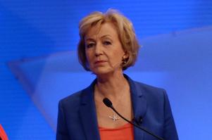 Andrea Leadsom est candidate au 10, Downing Street.