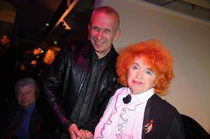Jean-Paul Gaultier et Yvette Horner à Paris en 2011.