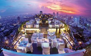 À Bangkok, des terrasses en fête