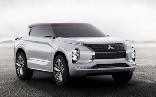 Mitsubishi GT-PHEV Concept, des watts dans la ouate!