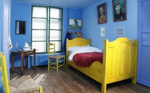Dormir dans un tableau de Van Gogh