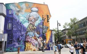 Sur le boulevard Saint-Laurent, la matrice de Montréal