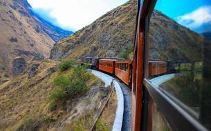 Luxueux trains de vie
