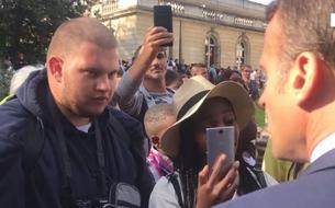 Le jeune chômeur qui a interpellé Macron se dit vexé par le conseil du chef de l'État