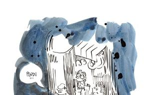 Les premières planches d'<i>Indélébiles </i>de Luz, la BD qui raconte <i>Charlie Hebdo </i>de l'intérieur