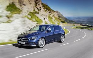 Mercedes Classe B, un monospace plus dynamique