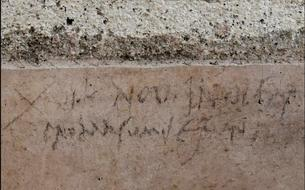 À Pompéi, un graffiti contredit la datation de la catastrophe du Vésuve