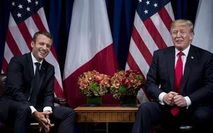 Après les attaques de Trump visant la France, Macron réclame le «respect» entre «alliés»